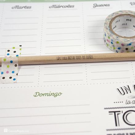 Pack de regalos planificador semanal