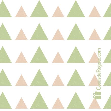 Taza original Contigo nada cuesta triángulos