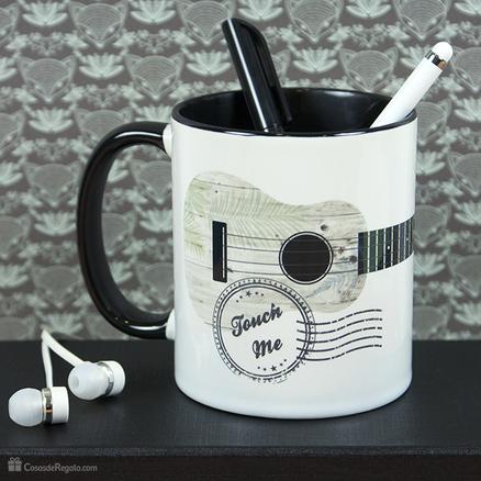 Taza original Guitarra touch me
