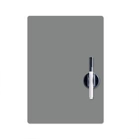 Pizarra nevera gris magnético