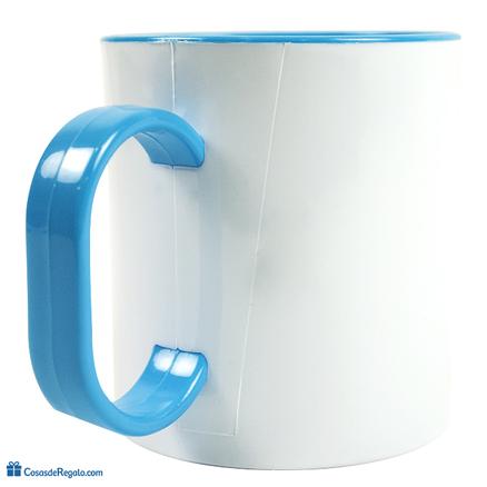 Taza original de plástico Como dos gotas de agua hija