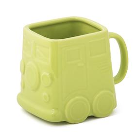 Mug Van 500 ml verde cerámica