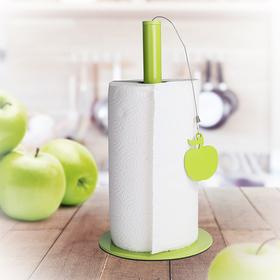 Soporte papel cocina Apple metal