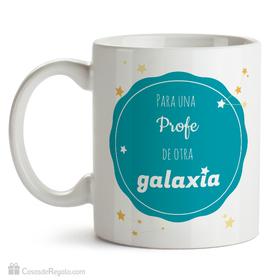 Taza original Para una profe de otra galaxia