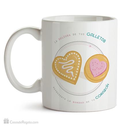 Taza original La dulzura de tus galletas
