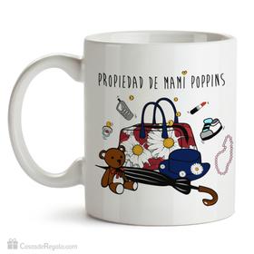 Taza original Propiedad mami poppins