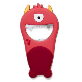 Abrebotellas Monster rojo PVC