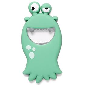 Abrebotellas Monster turquesa PVC