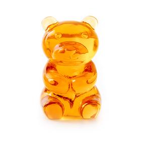Soporte gafas Yummy Bear transparente naranja