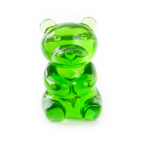 Soporte gafas Yummy Bear transparente verde