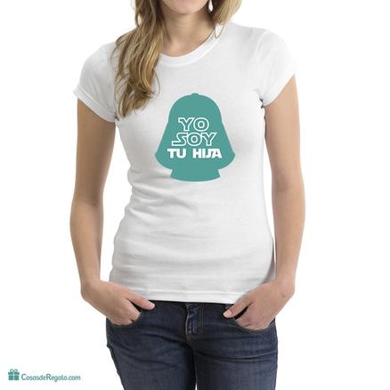 Camiseta original Yo soy tu hija para mujer