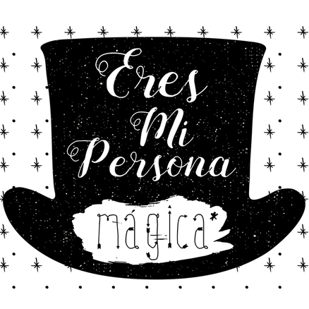 Taza original Eres mi persona mágica