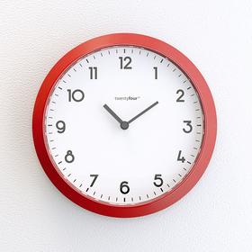 Reloj magnético Tic Tac magnético blanco y rojo