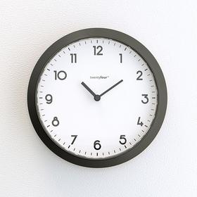 Reloj magnético Tic Tac magnético blanco y negro