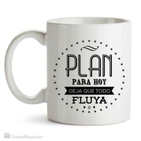 Taza original Plan para hoy