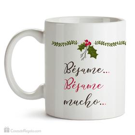 Taza original Bésame bésame mucho