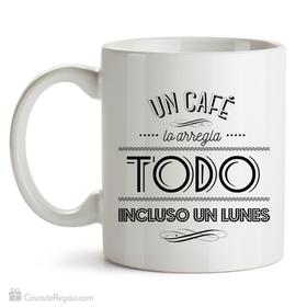 Taza original Café de lunes