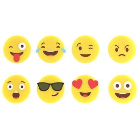 Marca copas Emoji (8 unidades) silicona