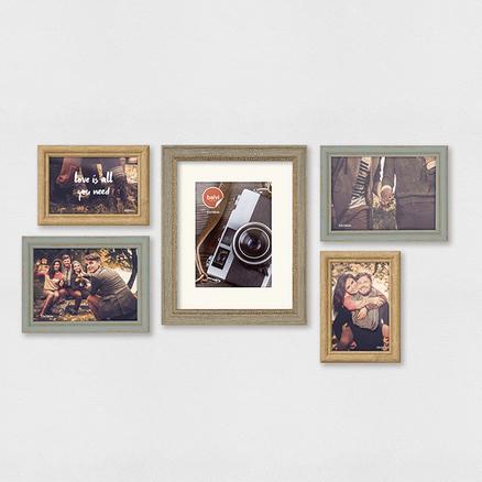 Set marcos de foto Wall Deco (5 unidades)