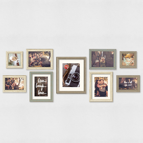Set marcos de foto Wall Deco (9 unidades)