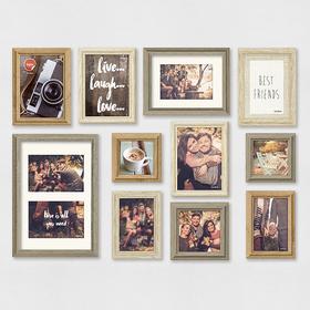 Set marcos de foto Wall Deco (11 unidades)