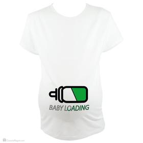 Camiseta para embarazada Baby Loading
