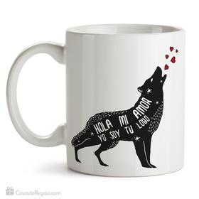 Taza original Yo soy tu lobo