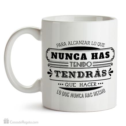 Taza original Alcanzar tus metas
