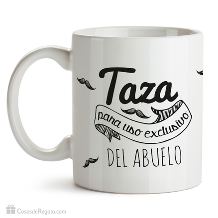Taza original Exclusivo para abuelos