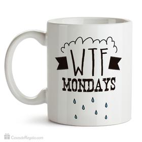 Taza original WTF Mondays