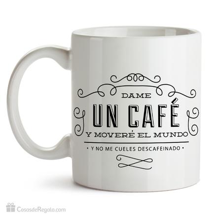 Taza original Dame un café