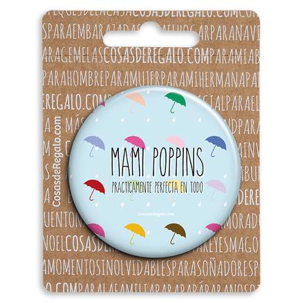Espejo de bolsillo original de 5.8cm mami poppins perfecta
