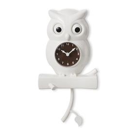 Reloj de pared Uhu blanco ABS