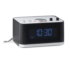 Radio despertador & altavoz Bluetooth P1 negro