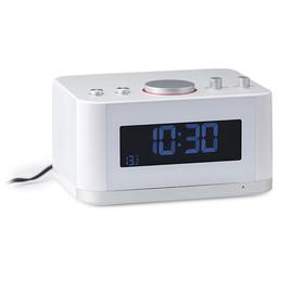 Radio despertador & altavoz Bluetooth P1 blanco
