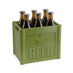 Tenedor aperitivo Beer verde (6 unidades)