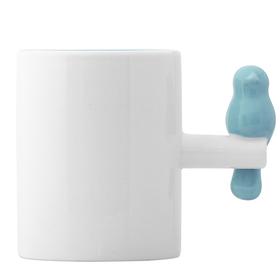 Mug Tweet 300 ml azul cerámica