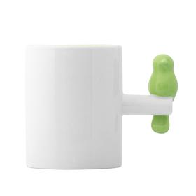 Mug Tweet 300 ml verde cerámica