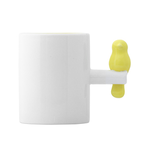 Mug Tweet 300 ml amarillo cerámica