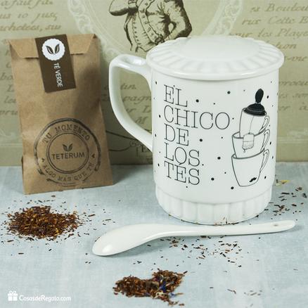Taza original El chico del té