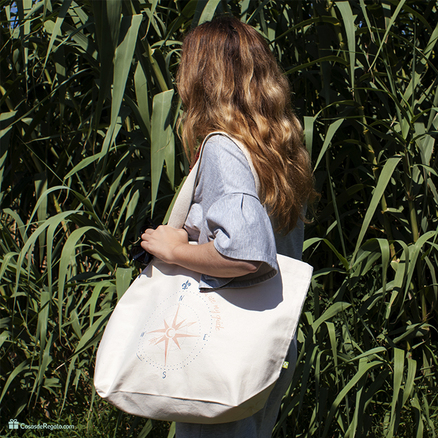 Bolso XL orgánico You are my guide