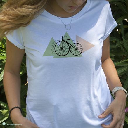 Camiseta original Contigo nada cuesta para mujer