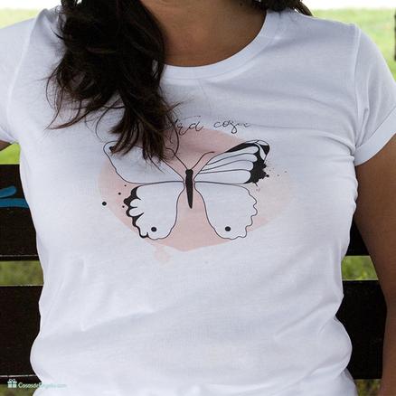 Camiseta A otra cosa mariposa para mujer