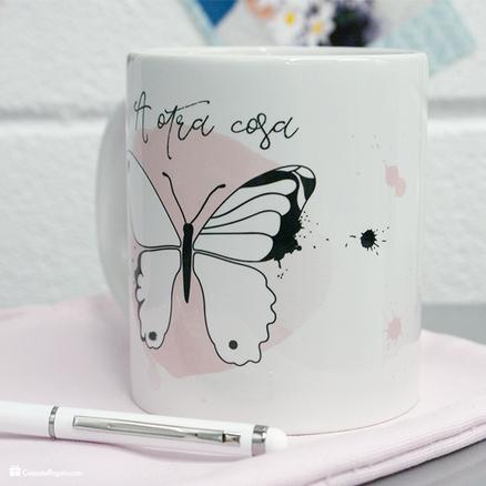 Taza original A otra cosa mariposa