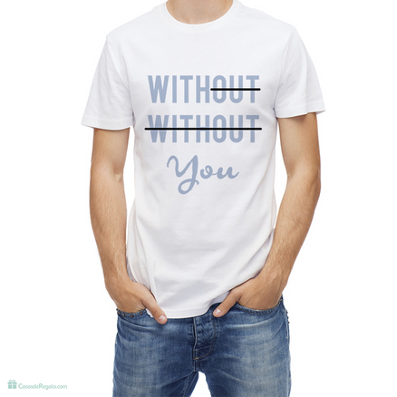 Camiseta original With you para hombre