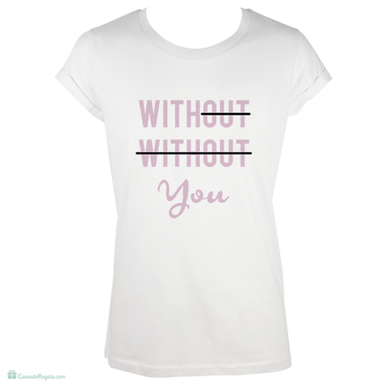 Camiseta original With you para mujer