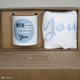 Pack de camiseta y taza With you para hombre