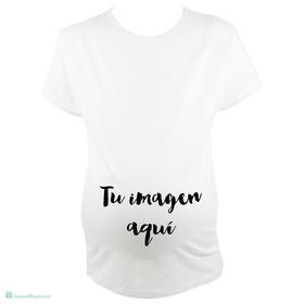 Camiseta para embarazada personalizado con tu imagen