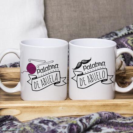 Pack de tazas doble para abuelos