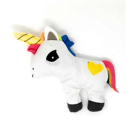 Peluche calentador unicornio